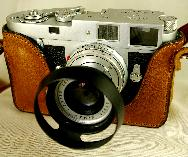 Leica M2 With Luigi custom case