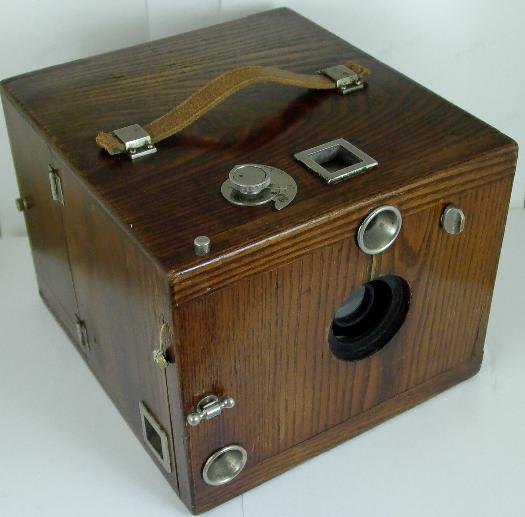 Scovill Oak Detective Camera 1892