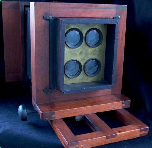 Simon Wing Little Giant Multiplying Plate Camera 1885 Extremely Rare