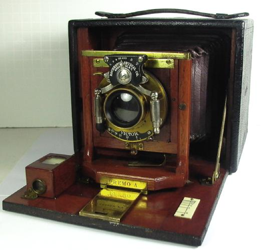 Rochester Optical Premo A 1900 with Rollfilm Holder